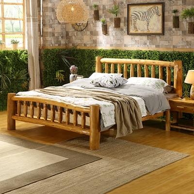 现代中式原木床哪个牌子好