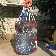 水桶网袋厂家直销饮水罐网兜承重30公斤三色可选包邮