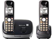 包邮松下KX-TG6511B数字无绳电话机办公子母机家用无线座机一拖一