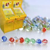 【天天特价】玻璃球14MM弹珠机专用玻璃珠 玻璃弹珠滚滚球套牛机