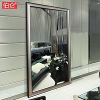 伯仑 镜子全身 落地镜全身镜子壁挂试衣镜舞蹈镜子卧室更衣大镜子