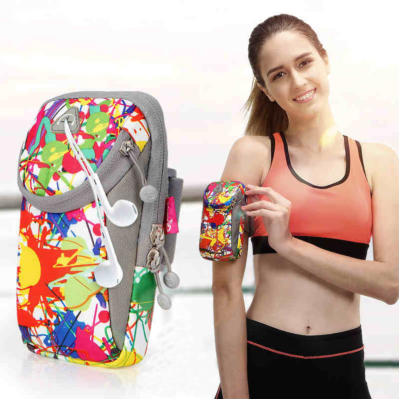 跑步手机臂包男女运动装备健身臂袋苹果6plus男女手腕包臂带臂袋