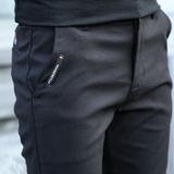 男裤夏季裤子男韩版潮流休闲裤男春夏款抗皱免烫黑色修身上班长裤