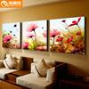 电视墙画 客厅 三联画