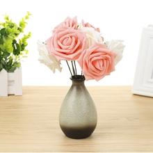 网店摄影背景 淘宝拍照拍摄道具摆件 包邮 粉红恬静玫瑰 满28元