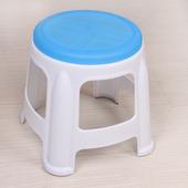 2个装瑞帝塑料圆凳浴室凳子洗脚凳餐椅塑料椅子防滑餐桌圆凳
