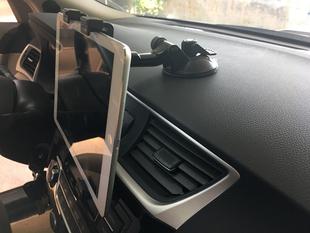 通用车载平板支架ipad 华为小米平板电脑导航仪GPS仪表盘平板支架