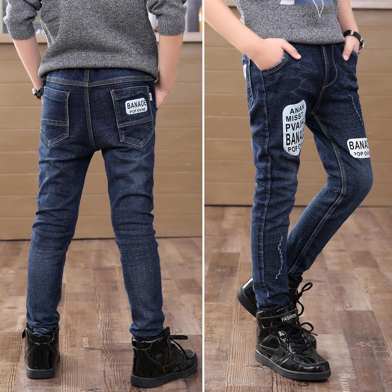 童裤男童春牛仔裤