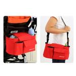 婴儿儿童手推车童车购置袋 妈咪包增高加高挂包挂袋挂篮收纳袋