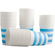得力9560加厚250ml 9盎司50只/包办公室纸制办公用品文具纸杯