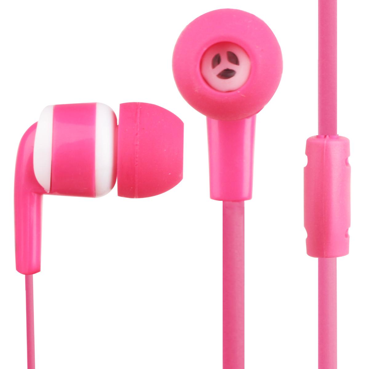 effective stereo in-ear headphones universal mobile computer game earplugs Korean fashion