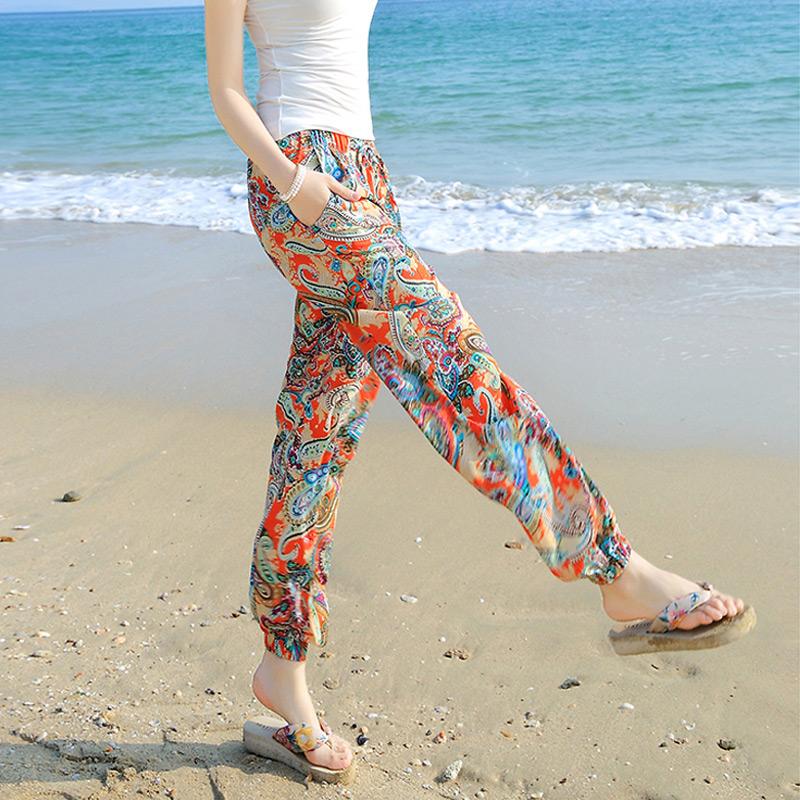 民族风阔腿裤