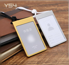 2c002dcac30a Metal card sets aluminum alloy documents card sets slings work ...
