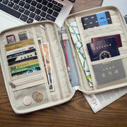 Passport Cover Airline Storage Bag Multi-function Travel Passport Package Portable Travel Document Ticket Passport Jacket