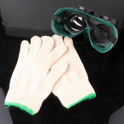 50双包邮 全棉线手套 电焊劳保防护用品 手部工作 耐磨加厚 纱线