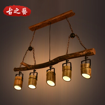 型圆形六边形拼接创意酒吧健身房工程定制Y异形吊灯造型灯LED简约
