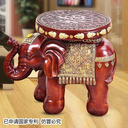 欧式大象凳子换鞋凳