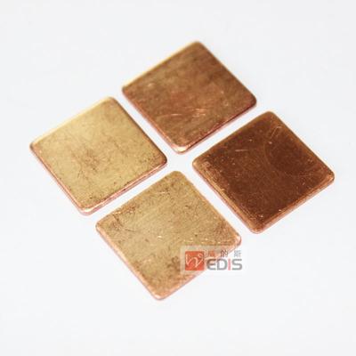 散热铜片 笔记本电脑CPU导热铜片 显卡纯铜片高纯度紫铜片多厚度