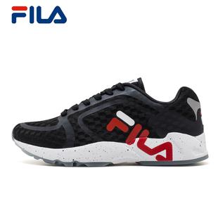 FILA斐乐男跑鞋2018复古跑鞋运动鞋轻便透气防滑舒适跑步鞋男