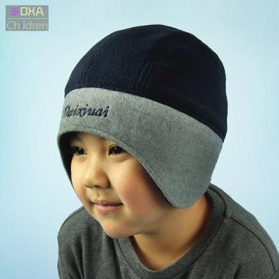 韩版婴儿帽子宝宝毛绒帽男女童护耳帽冬天雷锋帽宝宝帽新生儿童帽