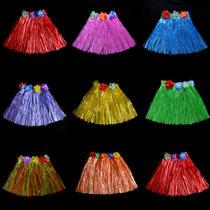 Double de l'enfant d'épaississement longueur 30CM jour Hawaiian herbe jupe danse journée Festival Festival activités vêtements pour tout-petits enfants