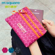 m square sundries storage bag small portable multifunction mobile phone bag mini purse card package water repellent