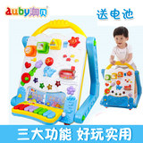 Aobei Toy Carnival Multifunctional Learning Table 4634390-1-year-old Baby Toy Walker Push Aobei