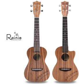 Rainie小雨 40全单系列相思木尤克里里 23寸26寸乌克丽丽ukulele