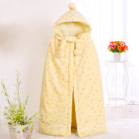 Baby cloak infant thickening jacket children baby out cloak newborn autumn and winter girls warm shawl