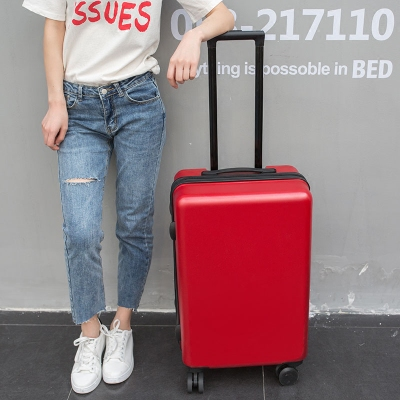 红色结婚陪嫁皮箱子行李箱女拉杆箱万向轮学生密码箱登机旅行箱男