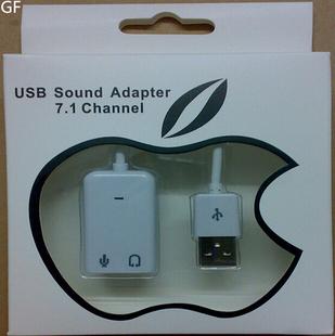 外接免驱USB声卡 苹果7.1 独立声卡 外置台式机电脑笔记本