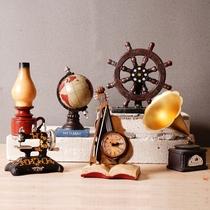 美式家具摆件欧式家居客厅电视柜上酒柜装饰品中式陶瓷花瓶三件套