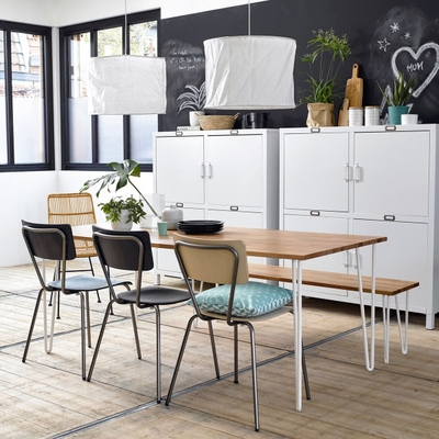 铁艺长方形饭桌子品牌巨惠