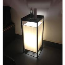 床头立式台灯LED新中式落地灯卧室简约创意复古书房客厅
