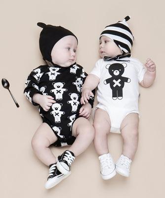 小熊婴儿服