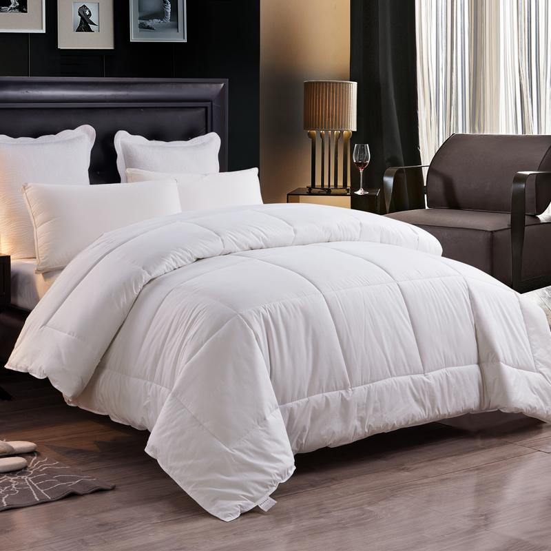 床上絲絨被