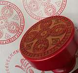Five-Party Buddha Seals Five-Faced Buddha Heart Curse Seal for Destroying Magic Obstacles 6*6CM