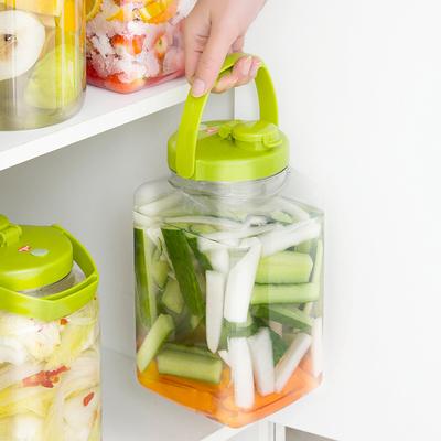 日本进口家用水果酵素桶塑料密封罐快速发酵桶带盖自动排气发酵瓶