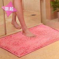 雪尼尔卫浴吸水地垫地毯浴室卫生间门厅进门口脚踏防滑垫脚垫门垫