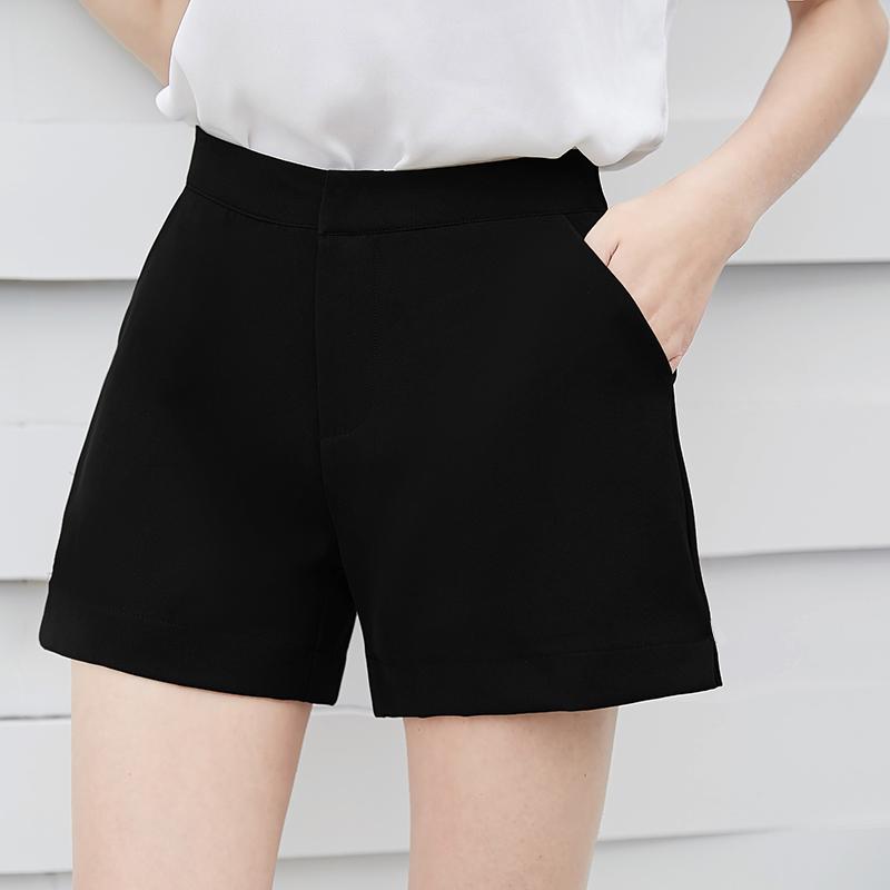 宽松开叉雪纺大码短裤5元优惠券