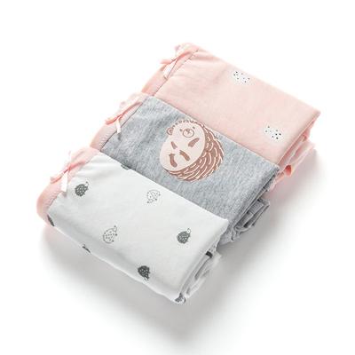 棉花共和国纯棉内裤甜美可爱女生内衣女式中低腰时代日系全棉底裤