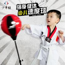 少年强 儿童拳击球拳击沙袋 沙包 发泄球 拳击速度球不倒翁玩具