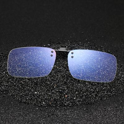 电脑护目防蓝光夹片近视眼镜专用抗疲劳手机游戏防辐射男女款超轻