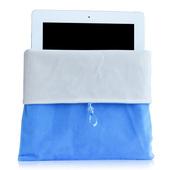 18新款 9.7寸内胆包 启际苹果ipad234布袋56保护套air2绒布袋2017