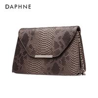 女包 Daphne/达芙妮潮鳄鱼纹链条小包单肩斜挎手拿包1015483070