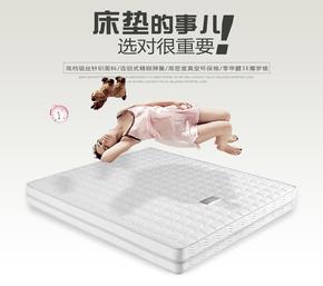 环保3E椰梦维双人床垫1.5米1.8米 双功能床垫一面软一面硬