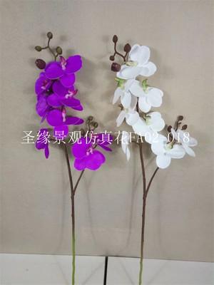 仿真蝴蝶兰玉兰花 套装花艺餐厅客厅卧室摆件家居装饰盆栽