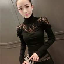 2009 New Autumn and Winter High-collar Knitted Sweater Bottom Blouse for Women