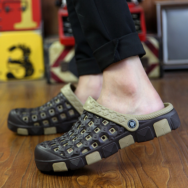 潮男半拖鞋