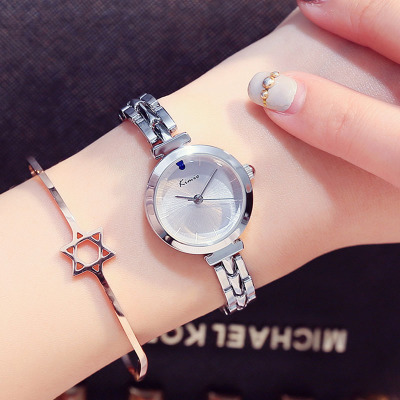 時尚手表女韓版簡約休閑手表可愛果凍表手鏈表學生石英小表盤表
